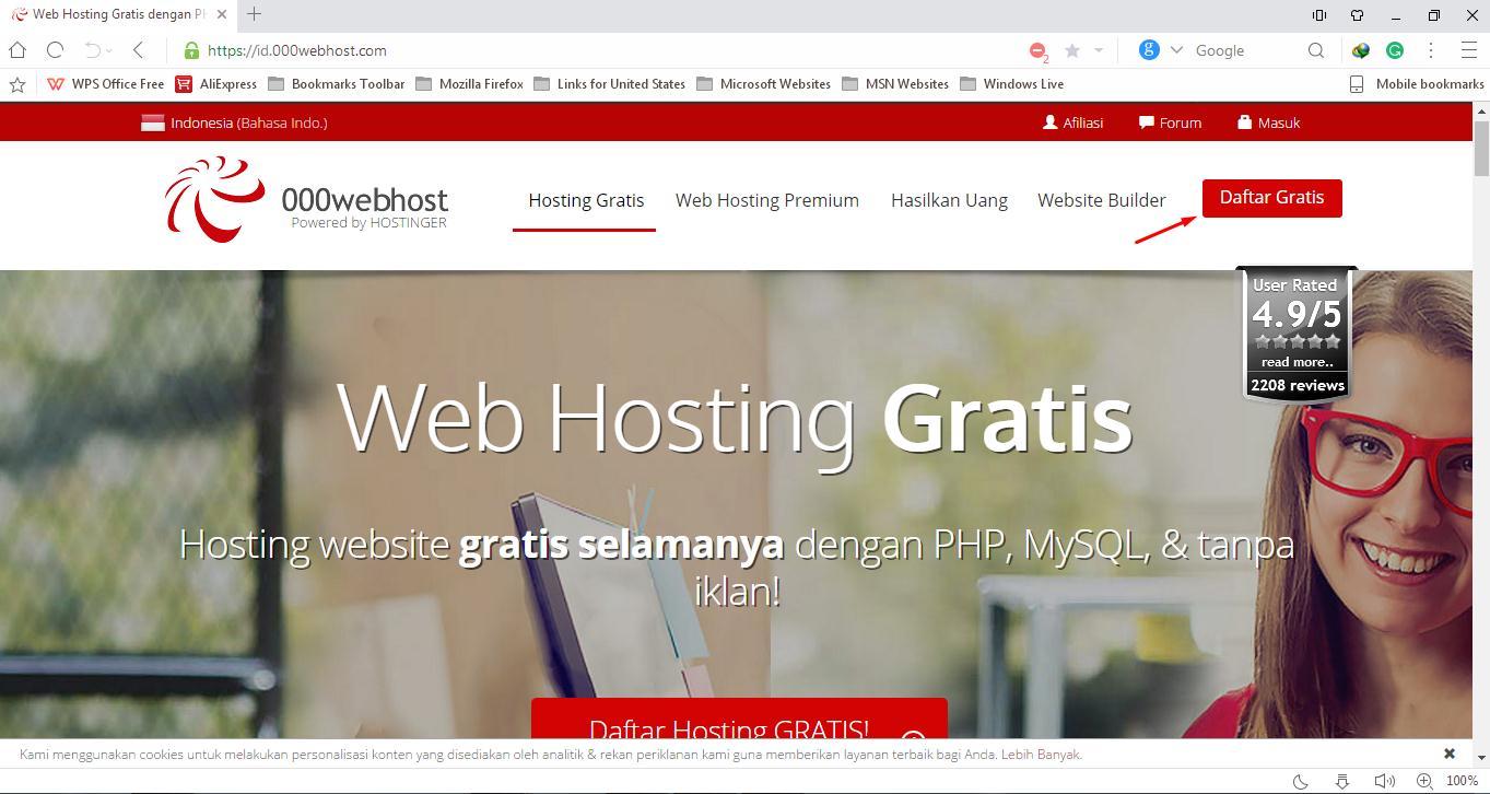 Cara Hosting Web Gratis dan Rekomendasi Hosting Gratis Terbaru